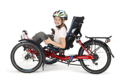 "HP Velotechnik fxs foldable recumbent trike for children and special ability use 20""/20"""