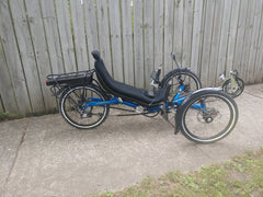 Trident Stowaway Electric Folding Trike - Consignment