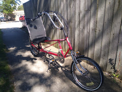 Easy Racer Recumbent - Consignment   LOCAL PICKUP ONLY - NO SHIPPING