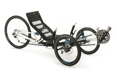 "HP Velotechnik Scorpion fs 26 full suspension foldable trike  20""/26"""