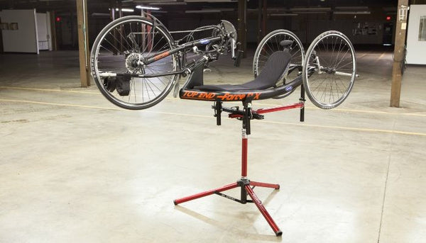 Sportcrafters Trike Handcycle Workstand At Amlings Cycle