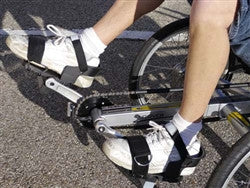 Terratrike Pedals Strapped Heel And Toe Support At
