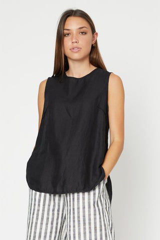 Fanton Top - Black