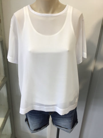Working Block Top - White