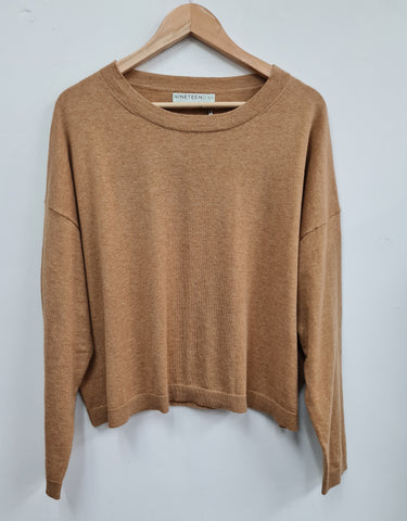 Slouch Sweater - Latte