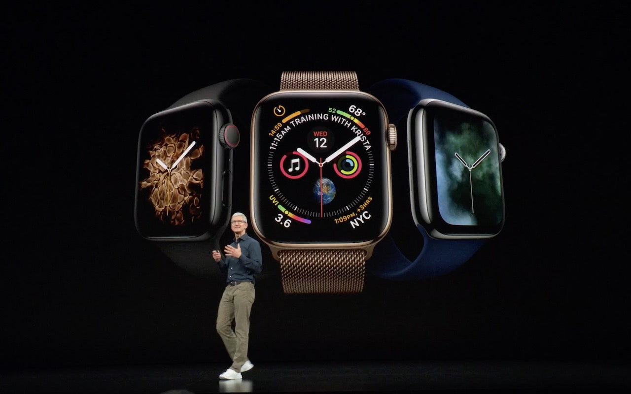 Apple Unveils the Apple Watch Series 4