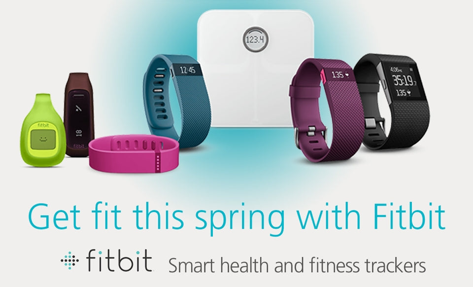Get fit this spring with Fitbit