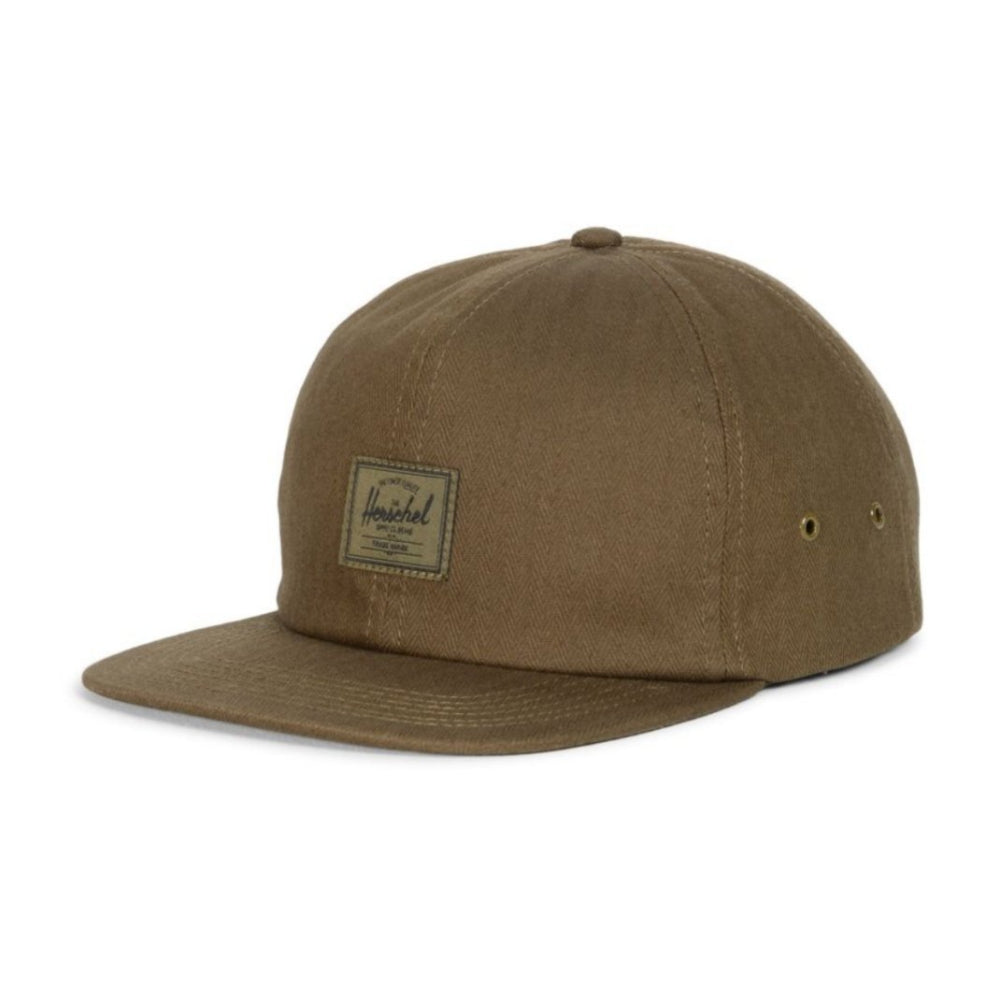 Herschel Albert Cap Army Herringbone Edition
