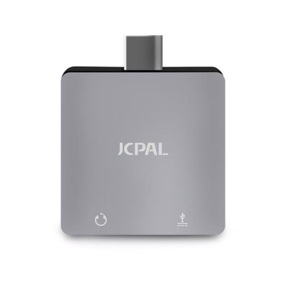 JCPal USB-C Digital Audio Adapter with Charging Port