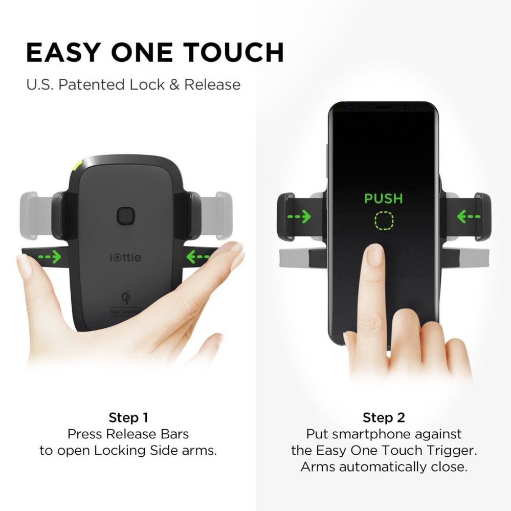 iOttie Easy One Touch Wireless  Dash with Windshield Mount