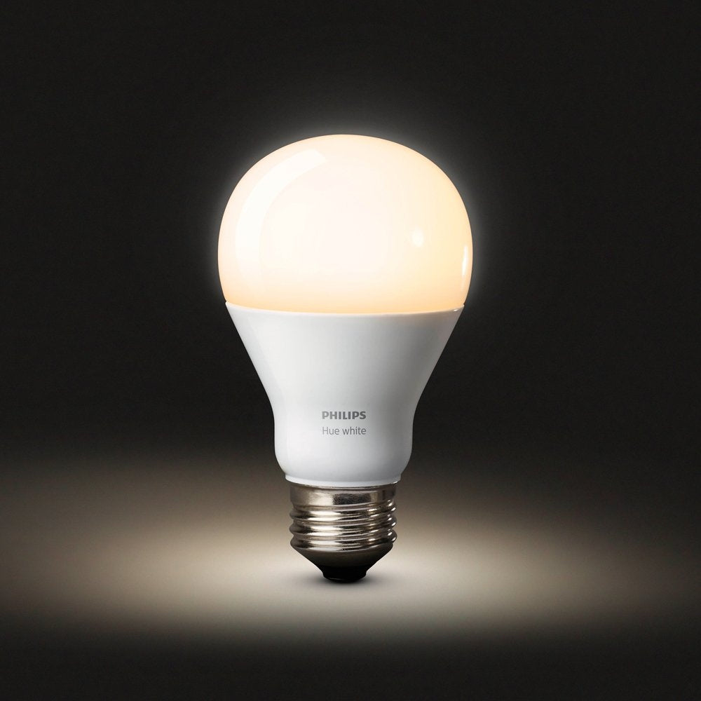 Philips Hue White A19 Single Bulb