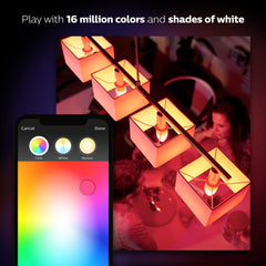 Philips Hue White and Color Ambiance E12