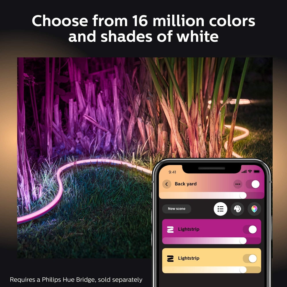 Philips Hue White & Color Ambiance 2m Outdoor Lightstrip