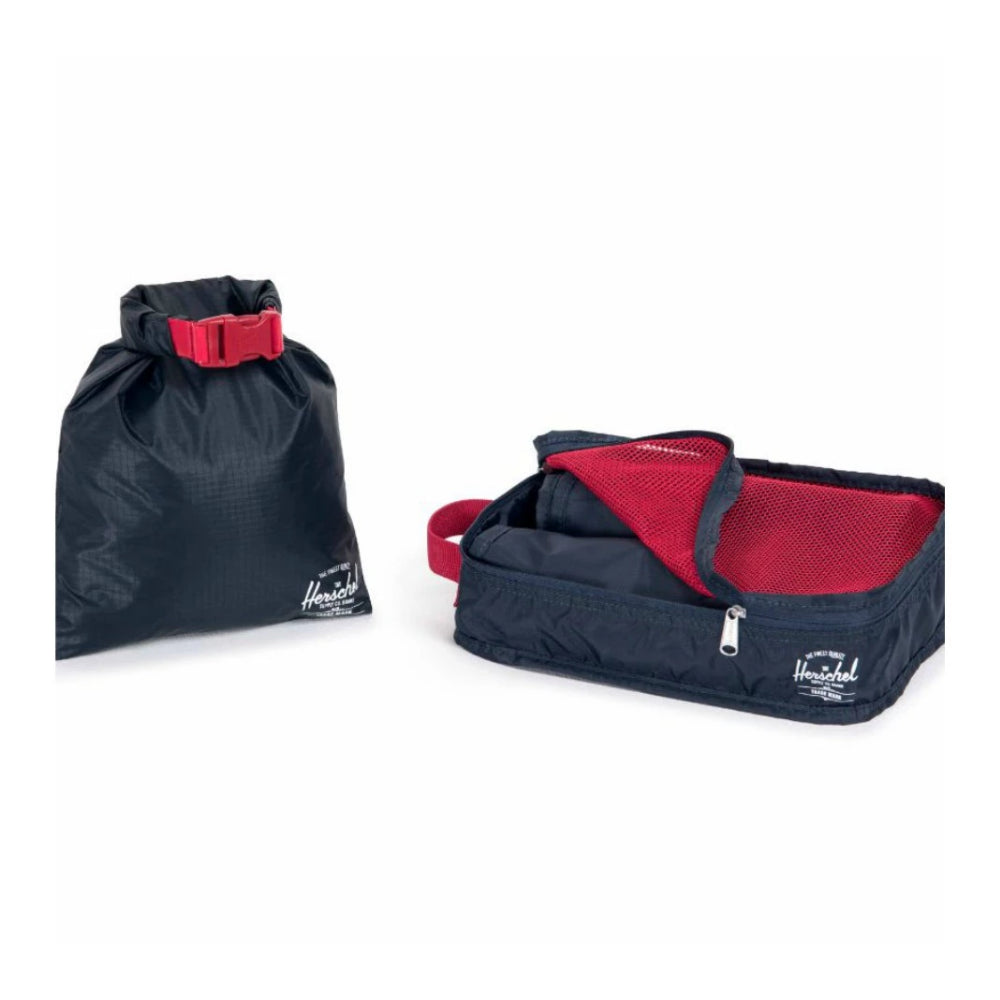 Herschel Travel Organizers Navy/Red
