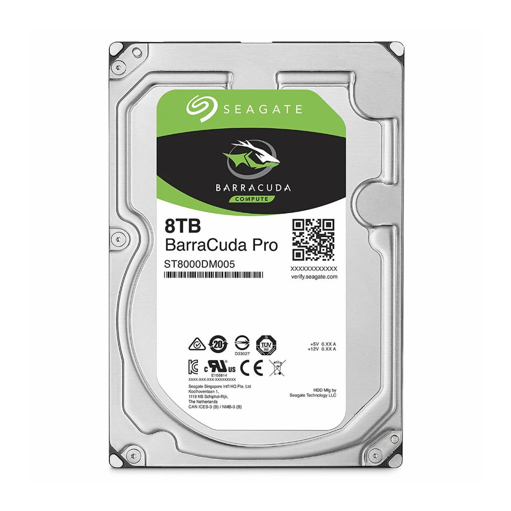 Seagate 8TB Barracuda SATA 6Gb/s 256MB Cache 3.5-Inch Internal Hard Drive