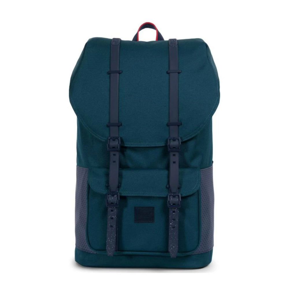 Herschel Little America Deep Teal/Peacoat/Barbados Cherry