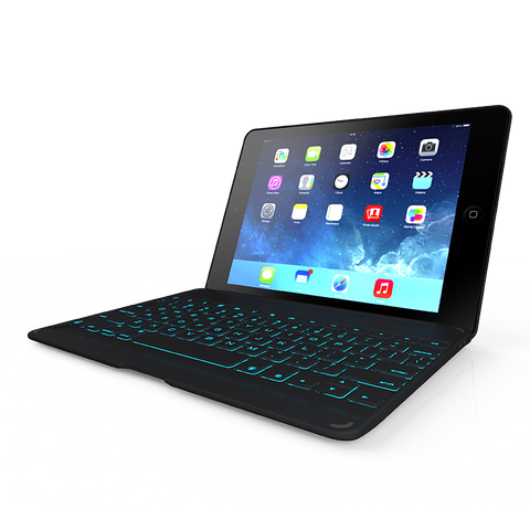 ZAGGkeys Folio with Backlit Keyboard for iPad Air