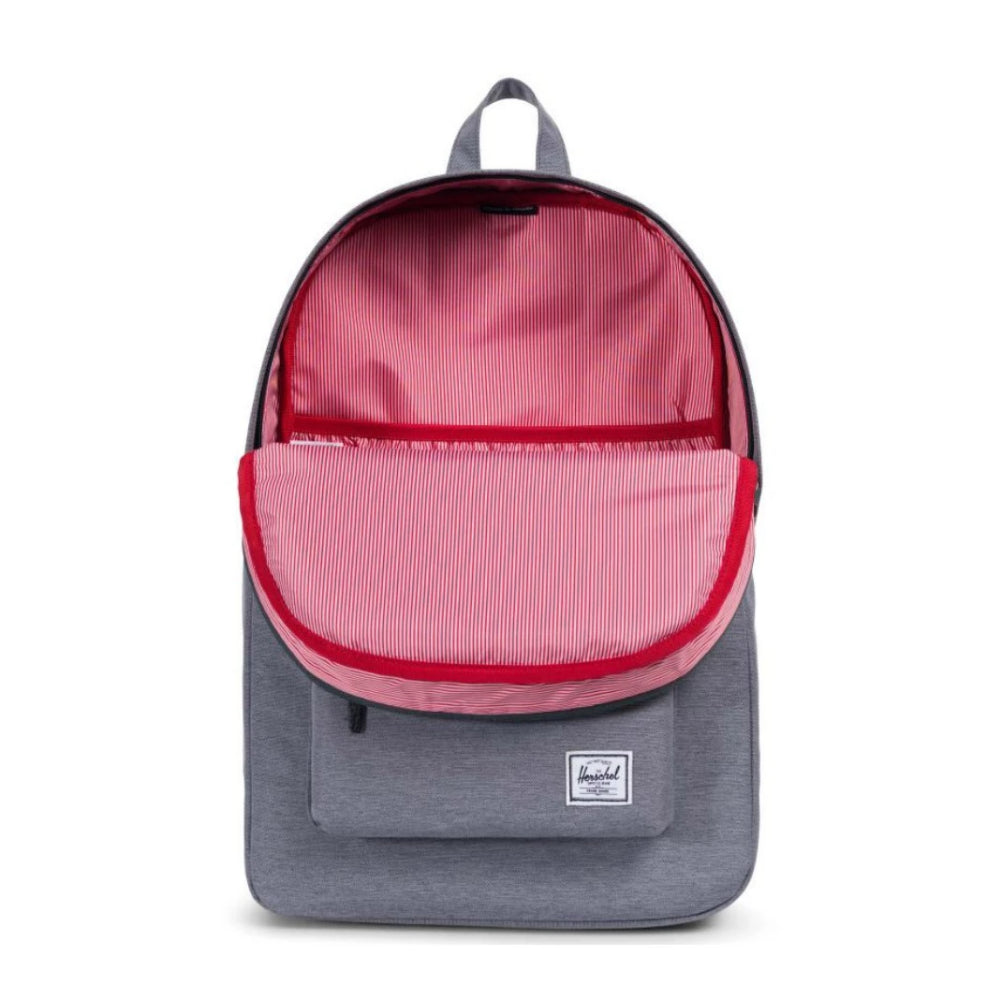 Herschel Heritage Backpack Mid Grey Crosshatch