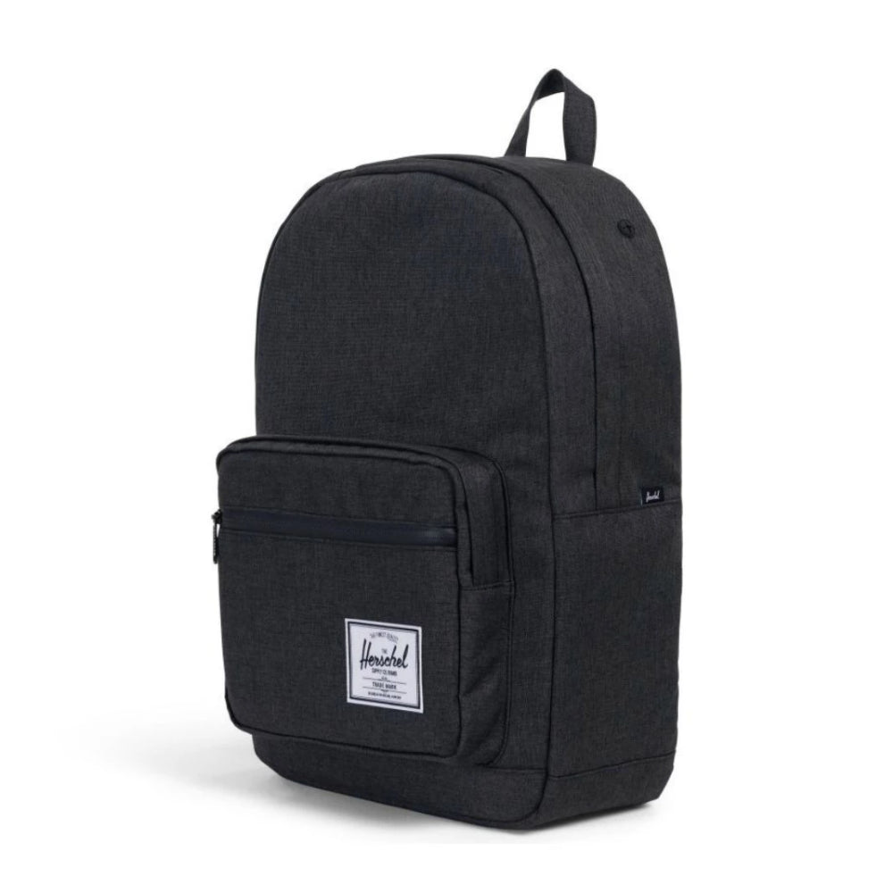 Herschel Pop Quiz Backpack Black Crosshatch/Black Rubber