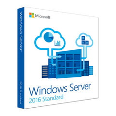 Microsoft Windows Server Standard 2016 64-Bit 16-Core Education