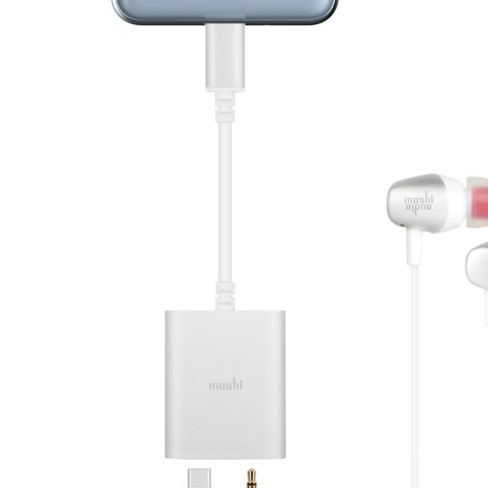 Moshi USB-C Digital Audio Adapter with Charging