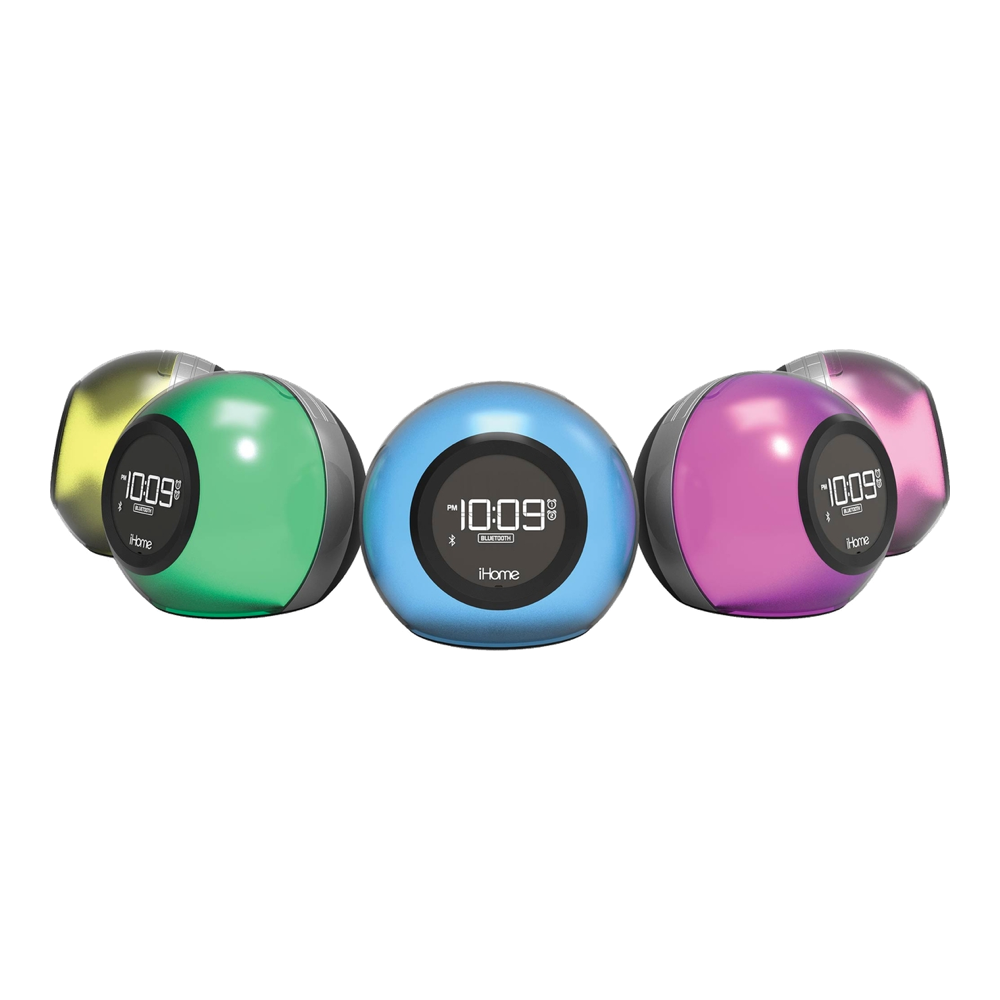 iHome Bluetooth Colour Changing Alarm Clock