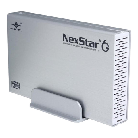 "Vantec NexStar 6G 3.5"" SATAIII to USB 3.0 Enclosure"