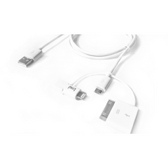tmd Trident Cable USB to Micro USB, Lightning Cable, and 30 pin