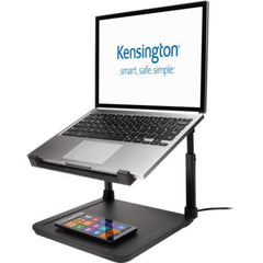 Kensington SmartFit Laptop Riser with Wireless Phone Charging Pad