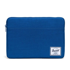 Herschel Anchor Sleeve 15-Inch Monaco Blue Crosshatch