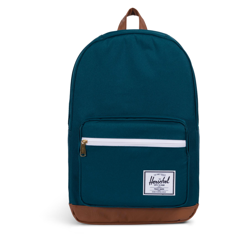 Herschel Pop Quiz Backpack Deep Teal/Tan