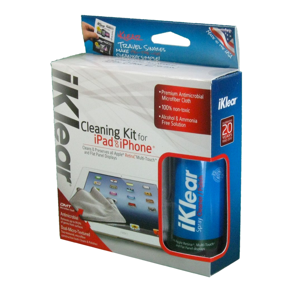 iKlear 2oz. iPad and iPhone Cleaning Kit