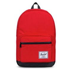 Herschel Pop Quiz Backpack Barbados Cherry Crosshatch/Black Crosshatch