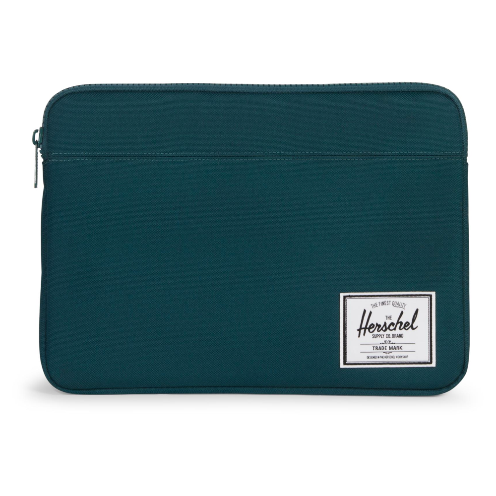 Herschel Anchor Sleeve Deep Teal 15-inch