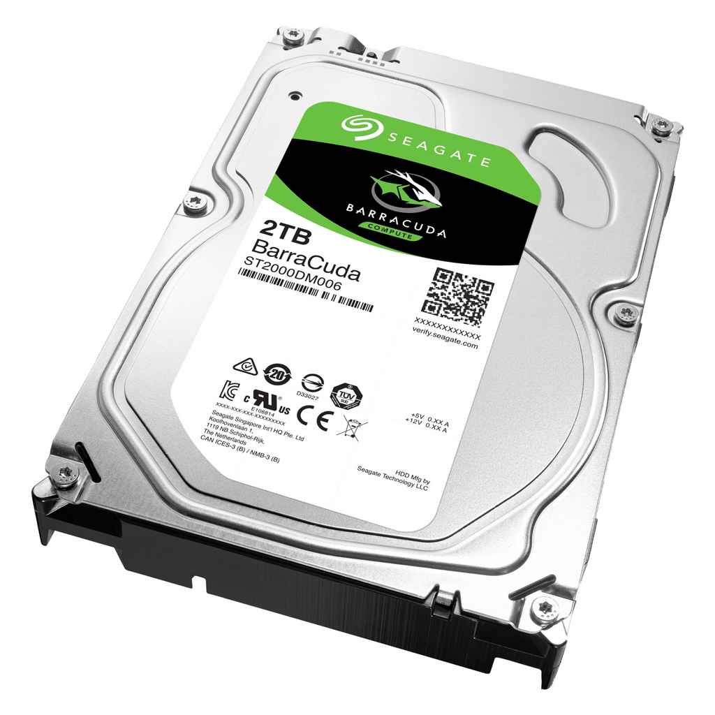 Seagate Barracuda 2TB Internal Hard Drive- Refurbished