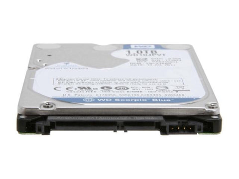 Western Digital Internal 750GB 2.5-inch Hard Drive