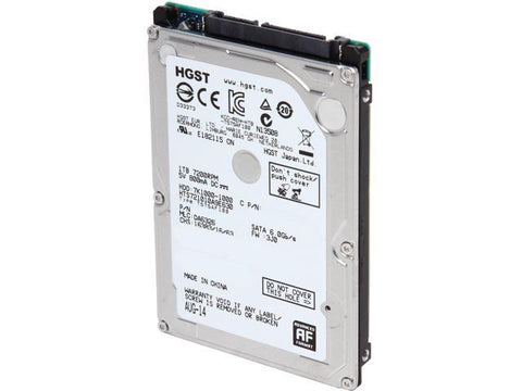 Hitachi 2.5-inch 1TB Internal Hard Drive