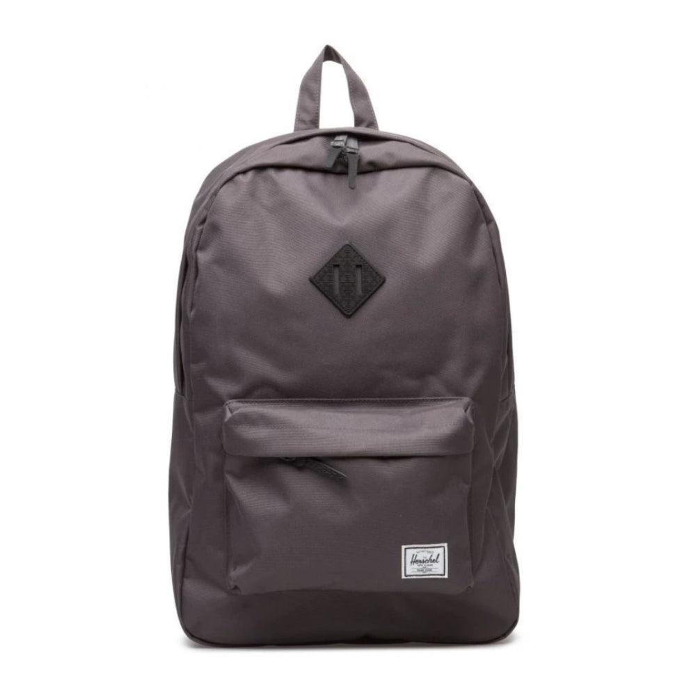 Herschel Heritage 600D Charcoal/Black Native Rubber