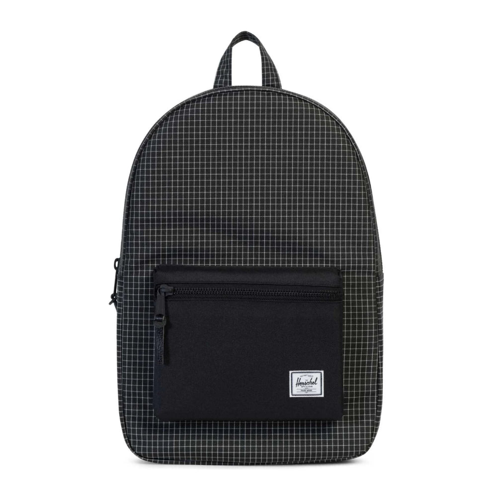 Herschel Settlement Backpack 600D Black Grid