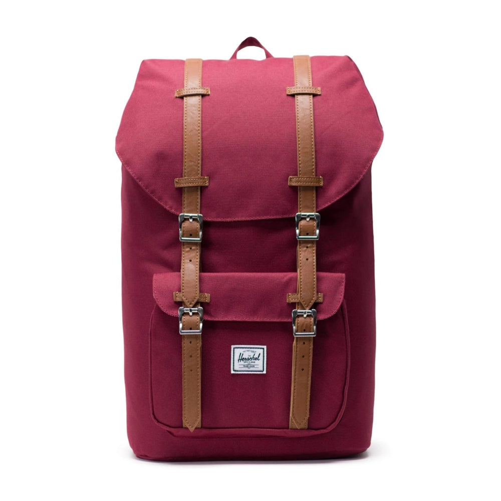 Herschel Little America Windsor Wine/Tan
