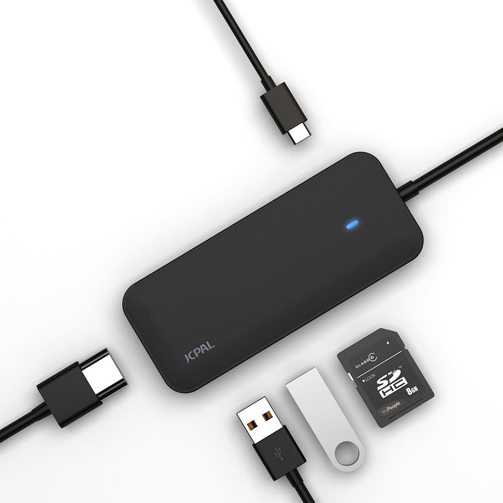 JCPal MultiPort USB-C Mini Dock