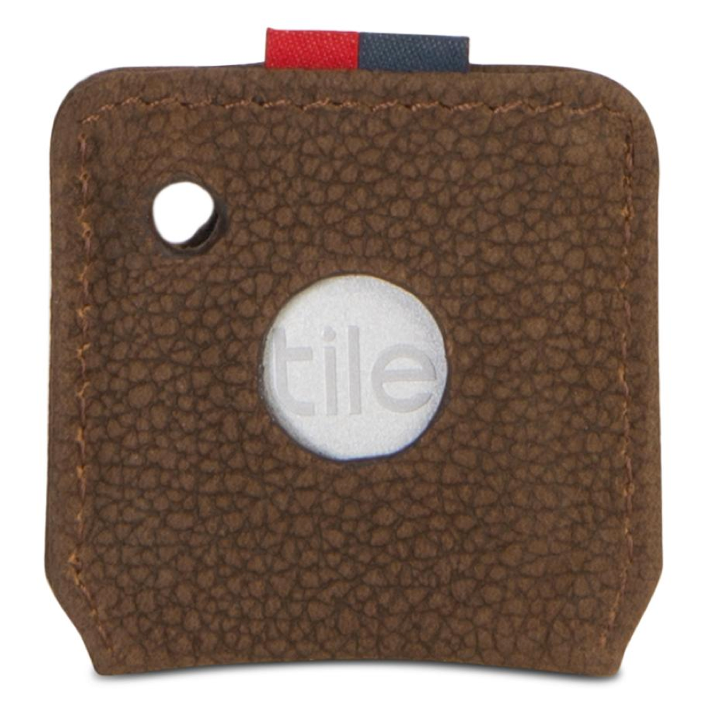 Herschel Key Chain | Tile Brown Pebbled Nubuck