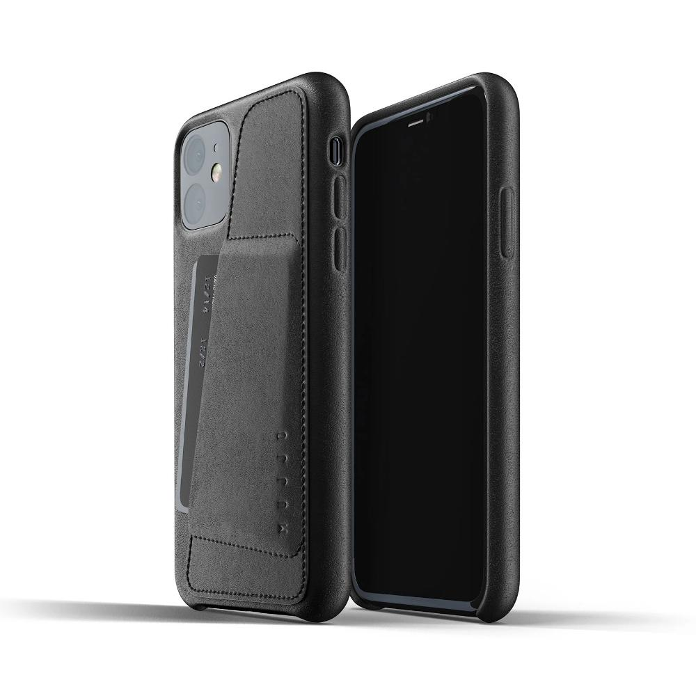 Mujjo Full Leather Wallet Case for iPhone 11