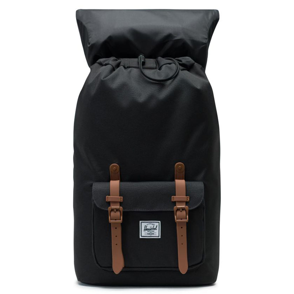 Herschel Little America 600D Poly - Black/Saddle