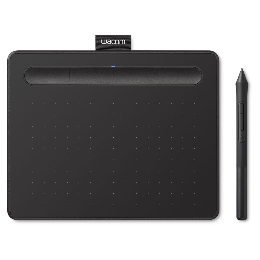 Wacom Intuos Bluetooth Creative Pen Tablet (Medium, Black)