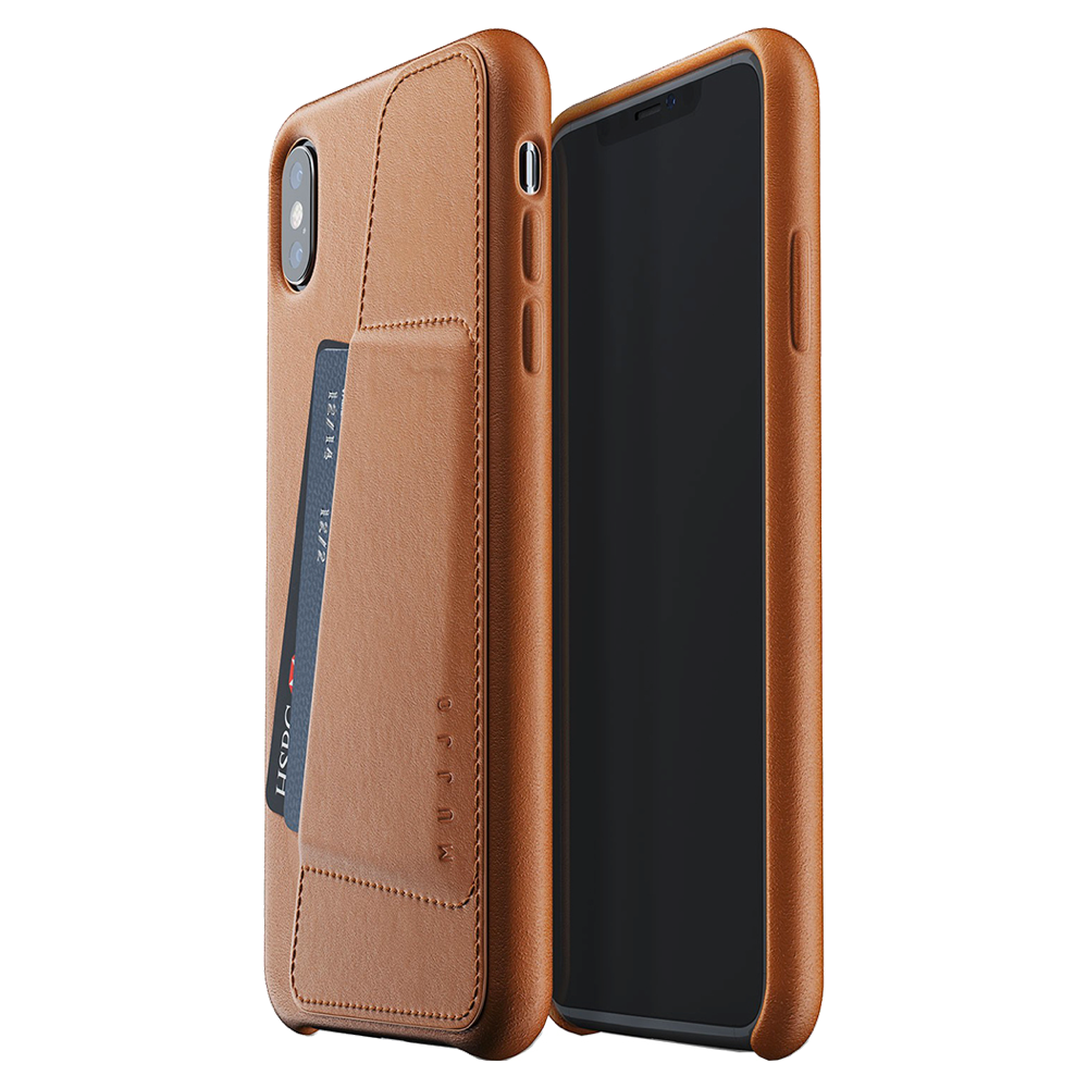 Mujjo Leather Wallet Case for iPhone Xs Max