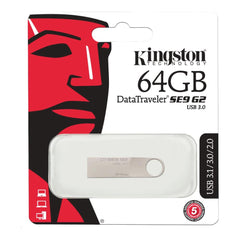 Kingston 64GB DataTraveler SE9 G2 USB 3.0 Flash Drive