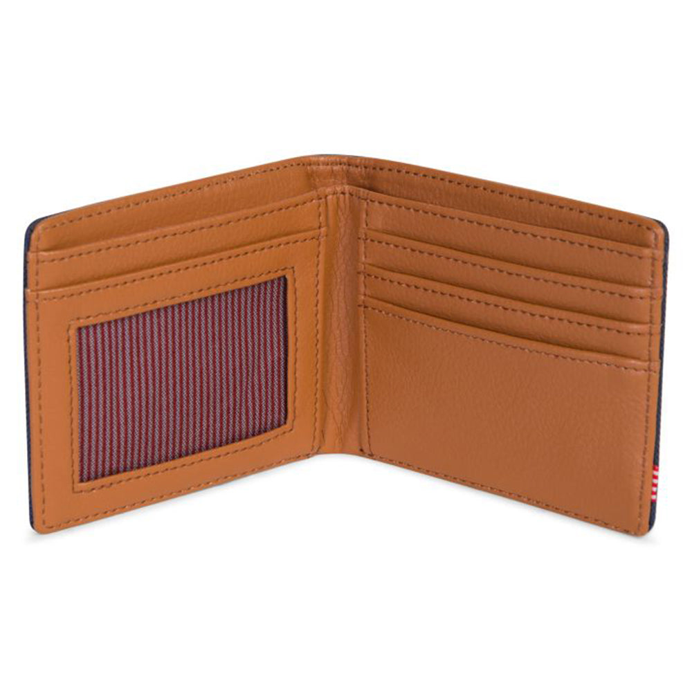 Herschel Hank Wallet 600D Poly - Navy/Tan
