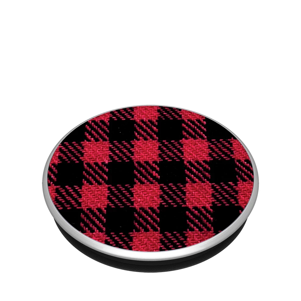 PopSockets PopGrip Classic Red Check
