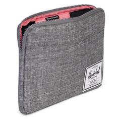 Herschel Anchor Sleeve Raven Crosshatch 12-inch